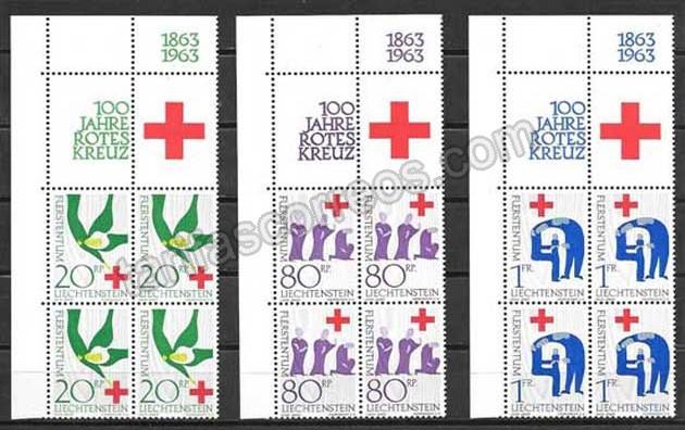valor y precio Colección sellos Liestenten-1963-01