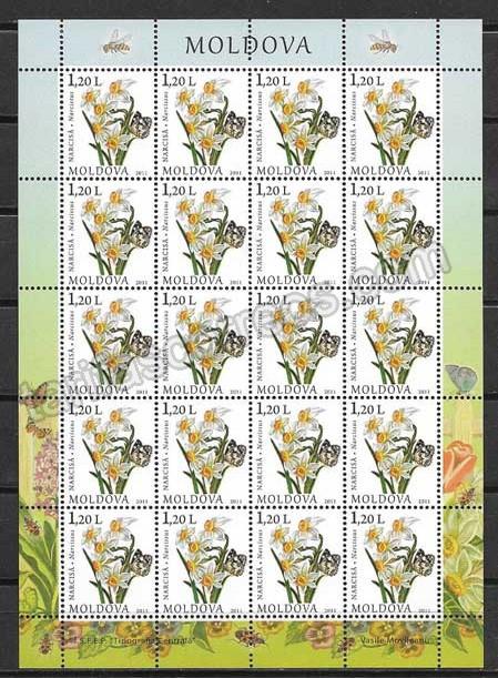 enviar paquetes desde - valor sellos Moldavia-2011-04