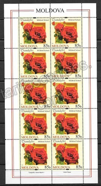 valor y precio Colección sellos Moldavia-2012-02