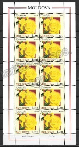 valor y precio Colección sellos Moldavia-2012-03