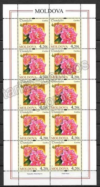 valor y precio Colección sellos Moldavia-2012-05