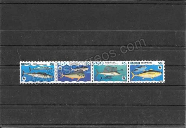 valor y precio Colección sellos protección de fauna marina