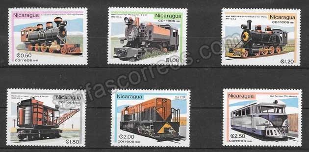 enviar paquetes desde - valor sellos locomotoras diversas 1981