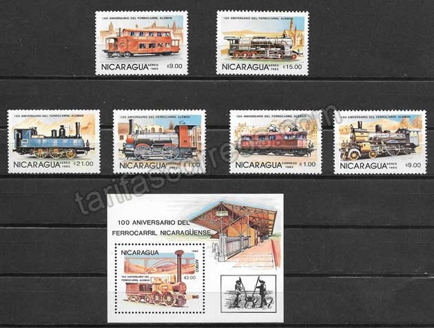enviar paquetes desde - valor sellos locomotoras de vapor y elctricas