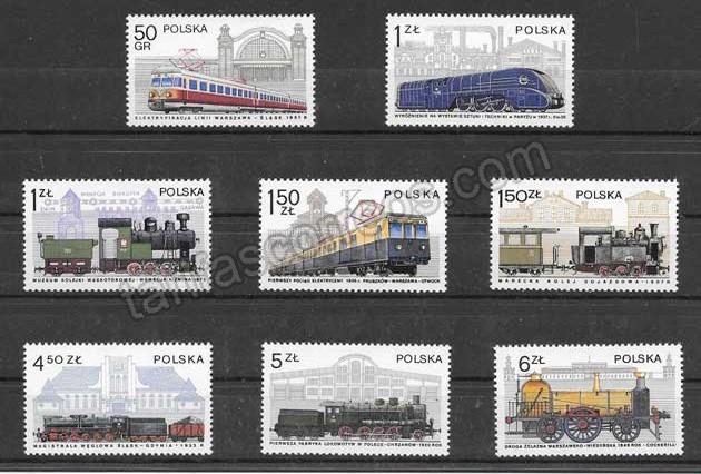 enviar paquetes desde - valor sellos filatelia historia de las comunicaciones ferroviarias