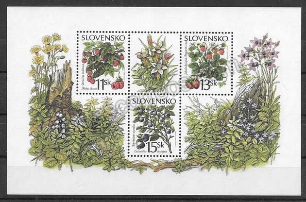 comprar Estampillas flora Eslovaquia 2000