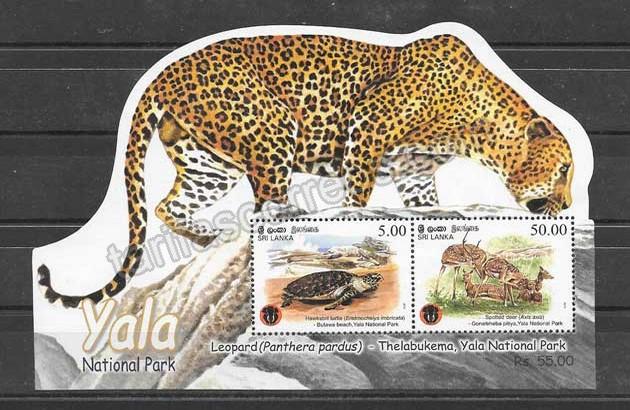 enviar paquetes desde - valor sellos Sri-Lanka-2013-03
