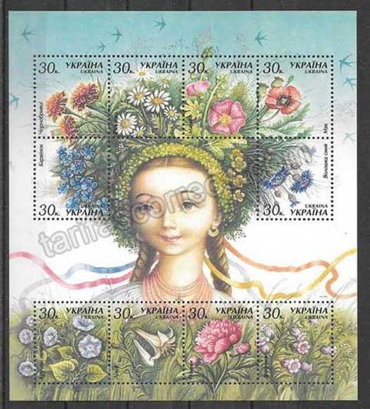 Filatelia  Sellos Ucrania-2000-01