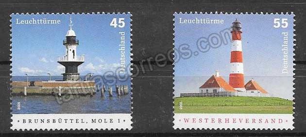 enviar paquetes desde - valor sellos Alemania-2005-01