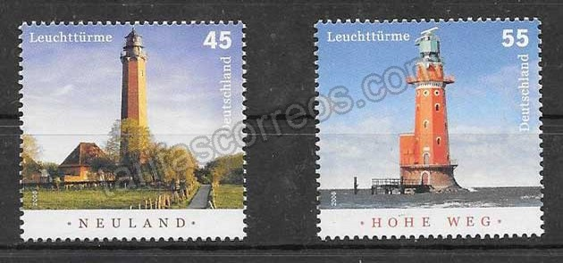 enviar paquetes desde - valor sellos Alemania-2006-01