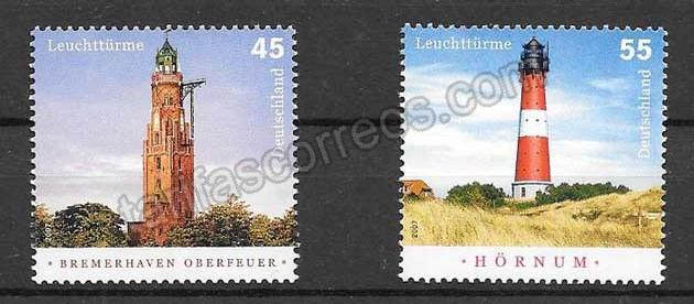 enviar paquetes desde - valor sellos Alemania-2007-01