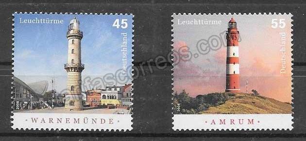 enviar paquetes desde - valor sellos Alemania-2008-01