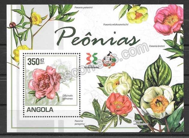 Sellos Filatelia Angola-2011-02