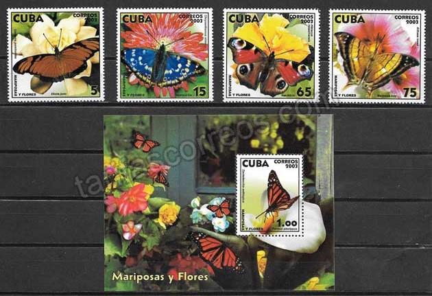 comprar Estampillas fauna cubana del 2002
