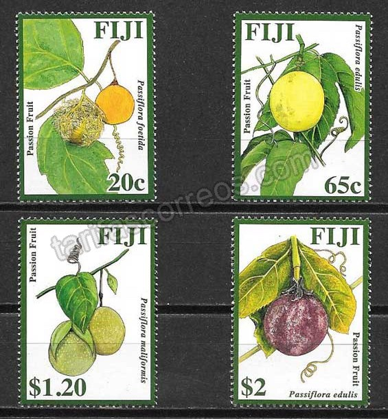 comprar Estampillas Fiji frutas 2009