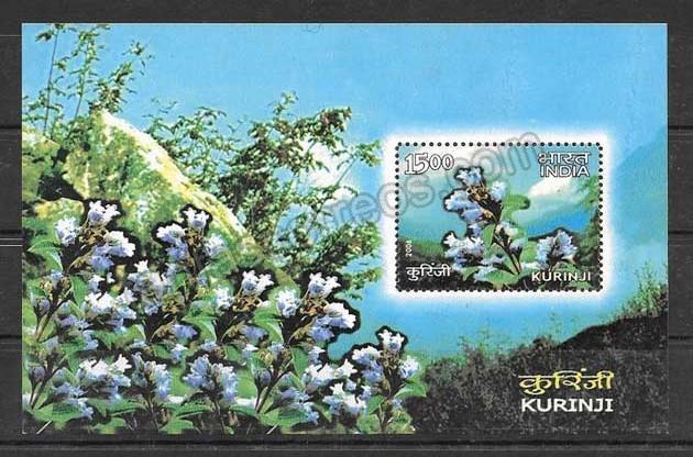 enviar paquetes desde - valor sellos India-2006-01