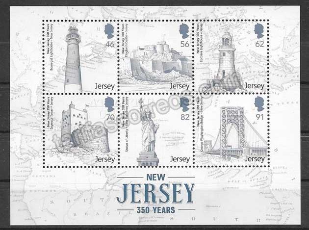 valor y precio Colección sellos faros de pais