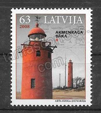 comprar Estampillas Letonia-2008-01