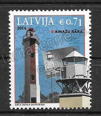comprar Estampillas Letonia-2014-01