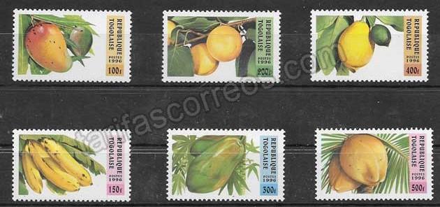 filatelia flora Togo 1997