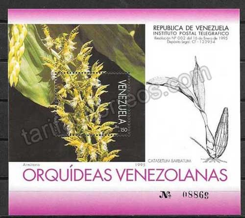 enviar paquetes desde - valor sellos Venezuela-1995-02