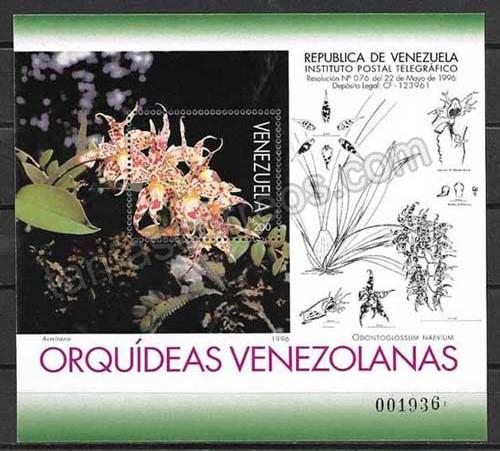 valor y precio Colección Sellos Venezuela-1996-02