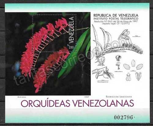 valor y precio Colección Sellos Venezuela-1997-02
