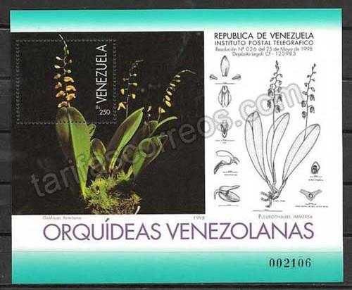 Filatelia sellos Venezuela-1998-02