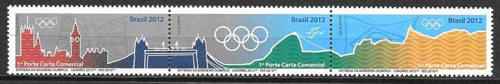 enviar paquetes desde - valor sellos filatelia olimpiada Brasil 2015