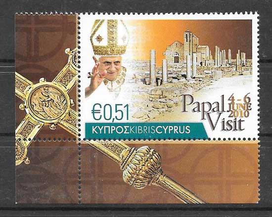 enviar paquetes desde - valor sellos Personalidad Benedicto XVI