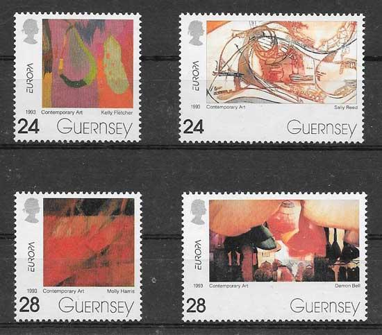 valor y precio Colección sellos Tema Europa del 1993