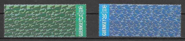 enviar paquetes desde - valor sellos Tema Europa 1995