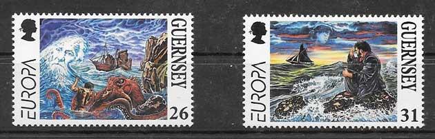 enviar paquetes desde - valor sellos filateliaTema Europa 1997