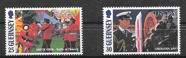 enviar paquetes desde - valor sellos filatelia Tema Europa 1998