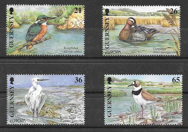 enviar paquetes desde - valor sellos Tema Europa 2001