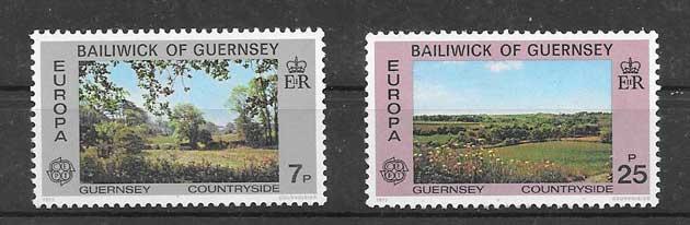 enviar paquetes desde - valor sellos tema europa 1977 - paisajes