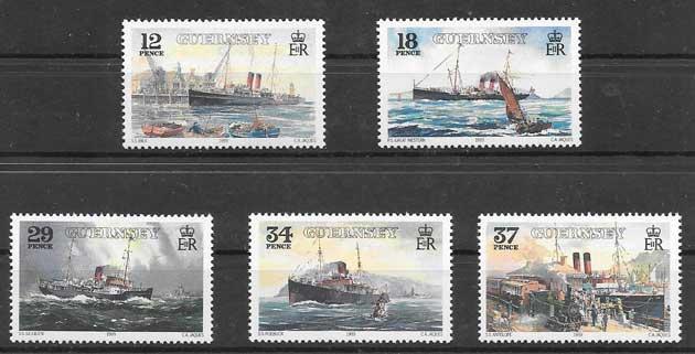enviar paquetes desde - valor sellos filatelia lineas marítimas 1989