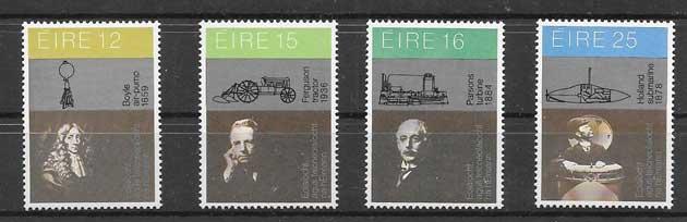 valor y precio Colección sellos Personalidades irlandesas 1981