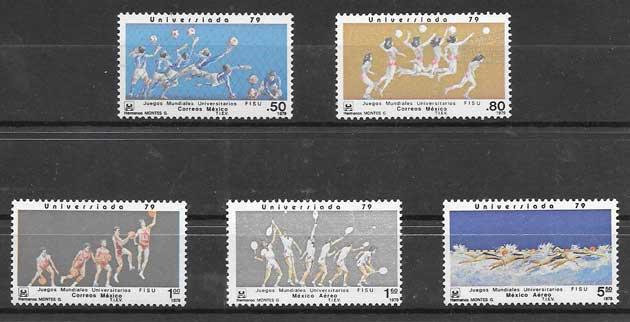 enviar paquetes desde - valor sellos deporte México 1979