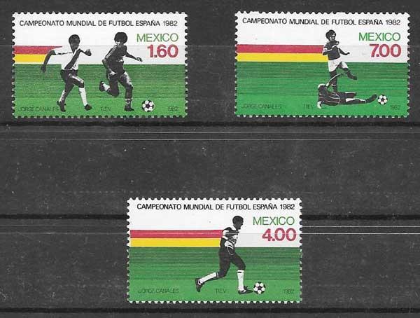 enviar paquetes desde - valor sellos colección deporte México 1982