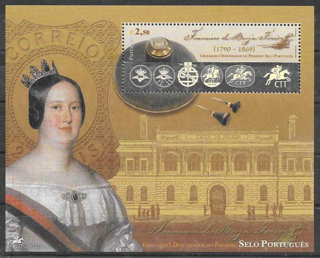 valor y precio Colección sellos personalidad Portugal 2003