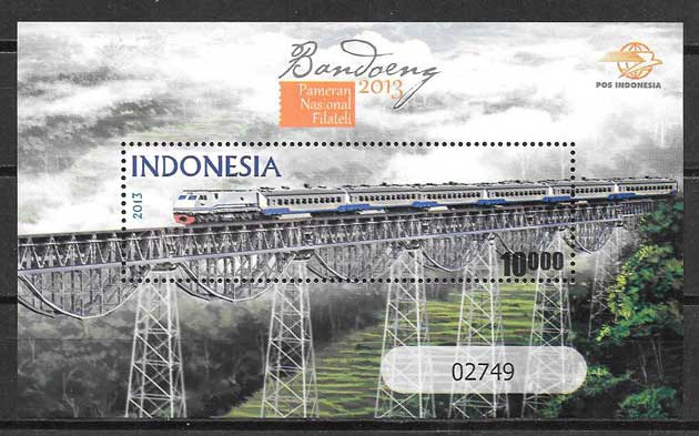 enviar paquetes desde - valor sellos transporte Indonesia 2013